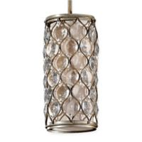 Feiss® 1-Light Mini-Pendant in Burnished Silver