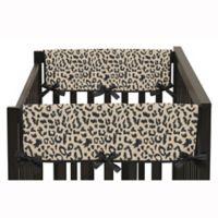 Sweet Jojo Designs Animal Safari Short Rail Guard Covers (Set of 2)