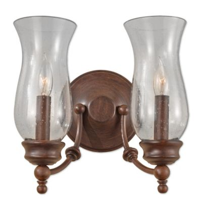 Wall Lamps Bed Bath Beyond : Heritage 2-Light Wall Bracket - Bed Bath & Beyond