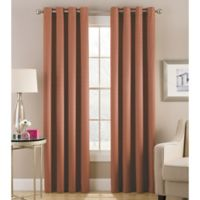 Cheshire 108-Inch Grommet Top Lined Window Curtain Panel in Clay