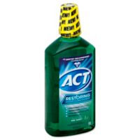 ACT® Restoring® 33.8 fl. oz. Anticavity Fluoride Mouthwash in Mint Burst