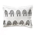 Liz and Roo Grey Elephant Decorative Pillow