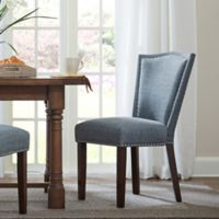 Madison Park Nate Dining Chair in Grey (Set of 2)
