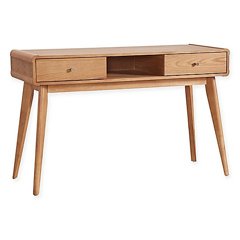 Buy verona home hanna danish mod vanity table in natural for Table hanna