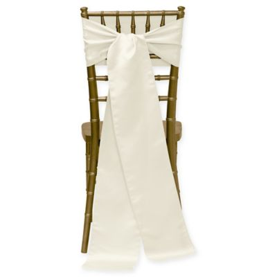Duchess Chair Ties In Ivory Set Of 4