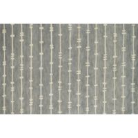 Loloi Rugs Nova 2-Foot 6-Inch x 7-Foot 6-Inch Runner in Grey/Ivory