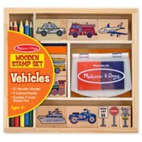 Melissa & Doug® Vehicle Stamp Set