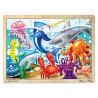 Melissa & Doug® Under The Sea 24-Piece Wooden Jigsaw Puzzle