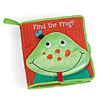 "Manhattan Toy® ""Find the Frog"" Soft Book"