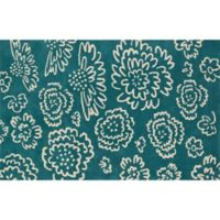Loloi Rugs Nova 7-Foot 6-Inch Square Area Rug in Teal