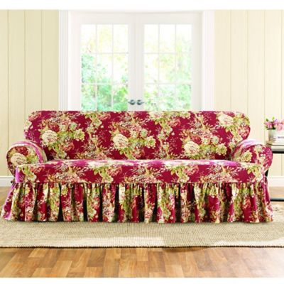 Buy Sure Fit Slipcovers t Cushion Sofa from Bed Bath Beyond