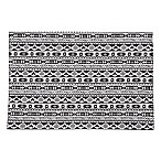 Ikat Black and White Placemat