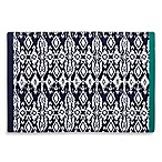 Wander Home Ikat Print Placemat in Indigo/White