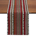 Design Imports Wilderness Stripe Tapestry 72-Inch Table Runner