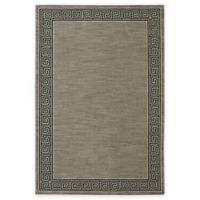Karastan Pacifica Collier 5-Foot 3-Inch x 7-Foot 10-Inch Area Rug in Grey
