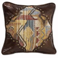 HiEnd Accents Ruidoso Striped Oblong Throw Pillow in Brown