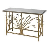 Sterling Industries Rhyl Console Table in Gold Leaf