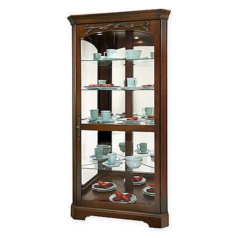 bathroom curio cabinet buy howard miller tessa curio cabinet in hampton cherry 11465