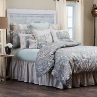 HiEnd Accents Gramercy King Comforter Set in Green/Taupe