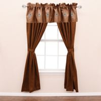 HiEnd Accents Las Cruces II Window Valance in Tan