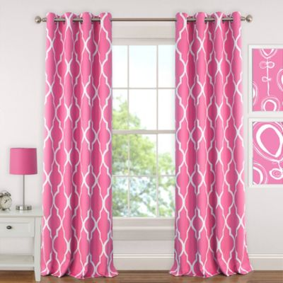 Buy Hot Pink Curtains from Bed Bath & Beyond