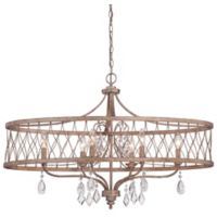 Minka Lavery® West Liberty 6-Light Island Fixture in Olympus Gold