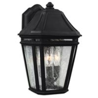 Feiss® Londontowne Large 3-Light Outdoor Wall Sconce in Black