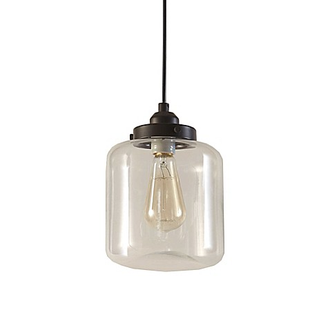 image of Oslo™ 1-Light Pendant in Bronze