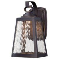 Minka Lavery Talera 13-Inch 1-Light LED Wall Mount in Oil Rubbed Bronze