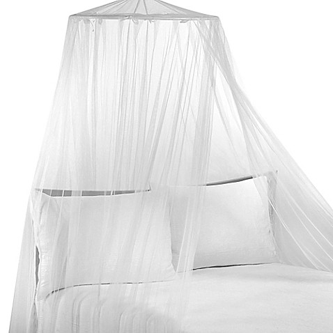siam white bed canopy bed bath beyond