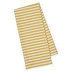 Striped Kitchen Towels in Yellow/White (Set of 4)