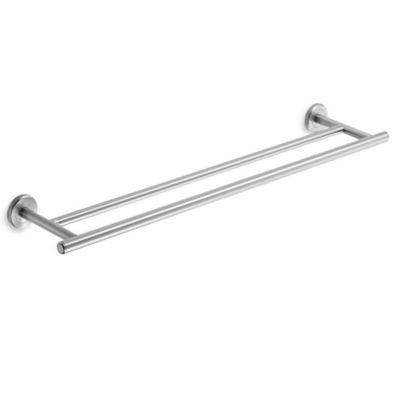 Gatco® Gatco Latitude II Satin Nickel Double Towel Bar