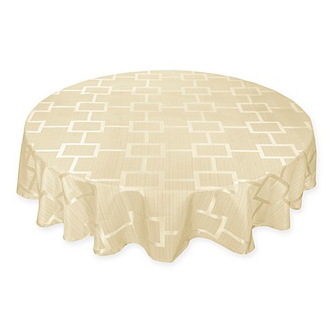 Buy Origins Tribeca Microfiber 90 Inch Round Tablecloth