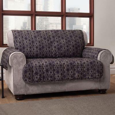 black furniture covers. Circles Sofa Cover In Black Furniture Covers V