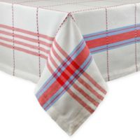Copeville Plaid 52-Inch x 52-Inch Square Tablecloth