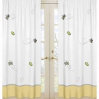 Sweet Jojo Designs Honey Bee Window Panel Pair