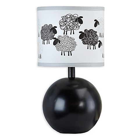 NoJo® Good Night Sheep Lamp with Shade - Bed Bath & Beyond