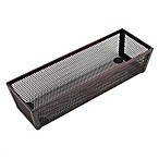 .ORG Mesh 3-Inch x 9-Inch Rectangular Kitchen Drawer Organizer in Bronze