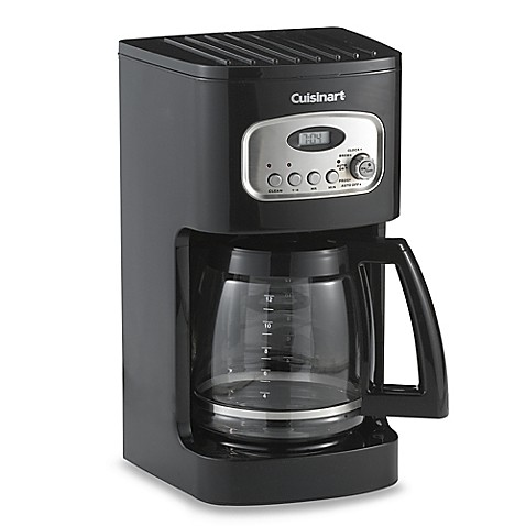 cuisinart 12 cup coffee maker cuisinart 174 12 cup programmable coffee maker bed bath 29420