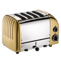 Dualit® NewGen 4-Slice Toaster in Brass
