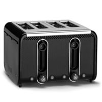 Dualit® Stainless Steel 4-Slice Studio Toaster in Black