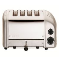 Dualit® NewGen 4-Slice Toaster in Metallic Silver
