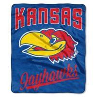 University of Kansas Raschel Throw