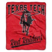 Texas Tech University Raschel Throw