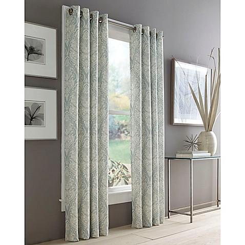 J Queen New York Roosevelt Grommet Top Window Curtain