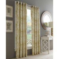 J. Queen New York™ Roosevelt 84-Inch Grommet Top Window Curtain Panel in Gold