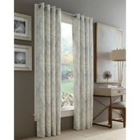 J. Queen New York™ Roosevelt 63-Inch Grommet Top Window Curtain Panel in Grey