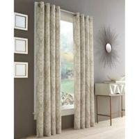 J. Queen New York™ Roosevelt 108-Inch Grommet Top Window Curtain Panel in Natural