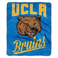 UCLA Raschel Throw