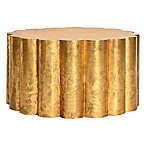 Safavieh Miram Coffee Table in Gold Foil